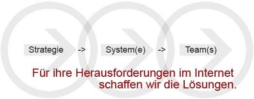 Mediata Strategie, System, Team