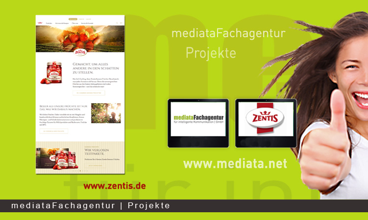 NEWS Zentis Relaunch